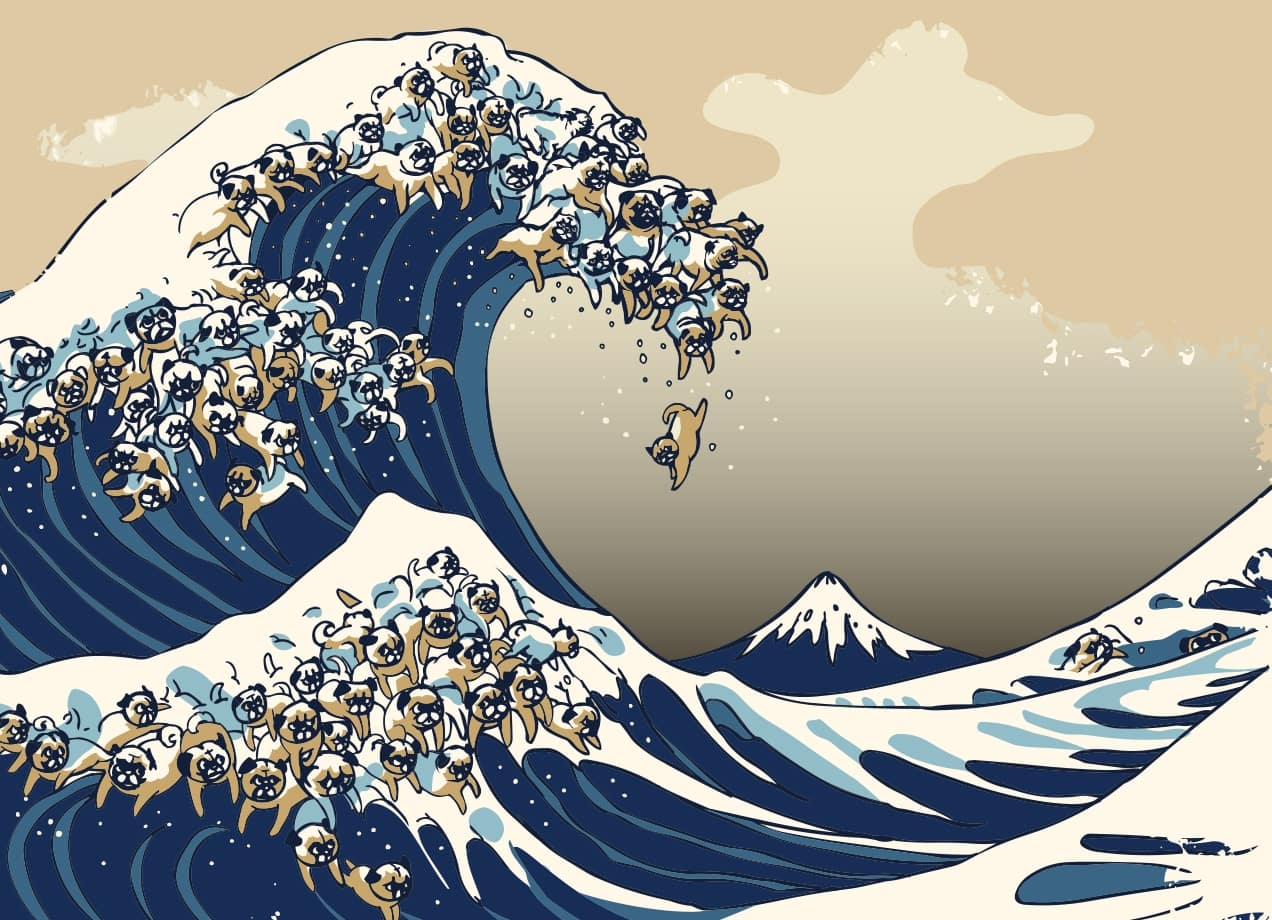 the great wave The great wave: hokusai by donald finkel but we will take the problem in its most obscure manifestation and suppose that our spectator is an average englishman a trained observer.