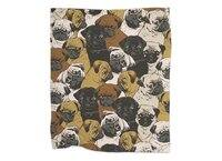 Social Pugs - blanket - small view