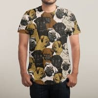 Social Pugs - mens-sublimated-tee - small view