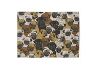 Social Pugs - rug-landscape - small view