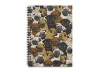 Social Pugs - spiral-notebook - small view