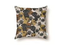 Social Pugs - throw-pillow - small view