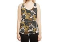 Social Pugs - womens-sublimated-racerback-tank - small view
