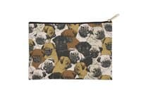 Social Pugs - zip-pouch - small view