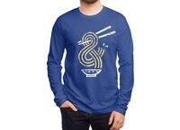 Ramen Ampersand - mens-long-sleeve-tee - small view