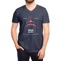 1957: Sputnik 1 - vneck - small view
