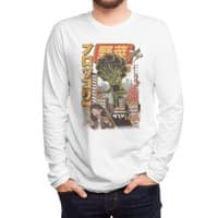 The Broccozilla - mens-long-sleeve-tee - small view