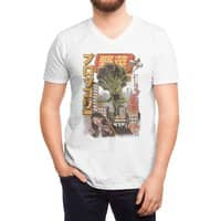The Broccozilla - vneck - small view