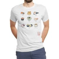 Nekozushi - mens-triblend-tee - small view