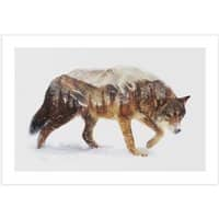 Wolf In The Arctic - horizontal-print - small view