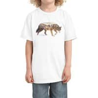 Wolf In The Arctic - kids-tee - small view