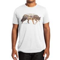 Wolf In The Arctic - mens-extra-soft-tee - small view