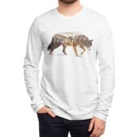 Wolf In The Arctic - mens-long-sleeve-tee - small view