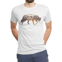 Wolf In The Arctic - mens-triblend-tee - small view