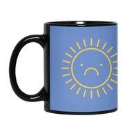 Sad Sun - black-mug - small view