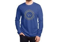 Sad Sun - mens-long-sleeve-tee - small view