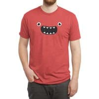 Om nom nom!  - mens-triblend-tee - small view