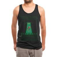Goodbye Santa - mens-triblend-tank - small view