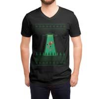 Goodbye Santa - vneck - small view