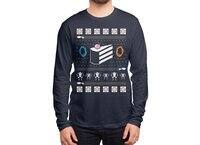 The Christmas Cake Is A Lie - mens-long-sleeve-tee - small view