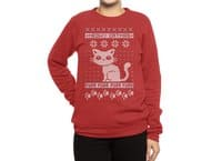 Meowy Catmas - crew-sweatshirt - small view