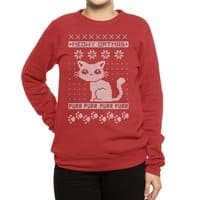 Meowy Catmas - crew-sweatshirt - small view
