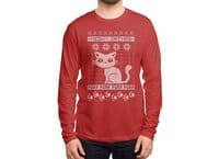Meowy Catmas - mens-long-sleeve-tee - small view