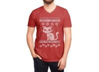Meowy Catmas - vneck - small view
