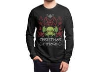 Merry Cthulhu - mens-long-sleeve-tee - small view