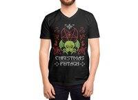 Merry Cthulhu - vneck - small view