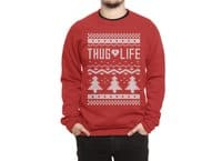Thug Life Christmas Sweater - crew-sweatshirt - small view