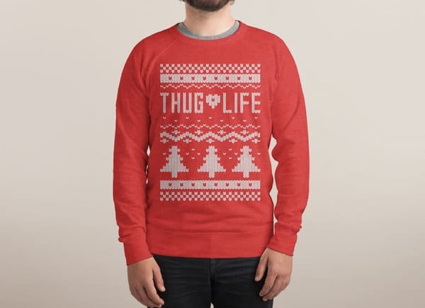 Thug Life Christmas Sweater