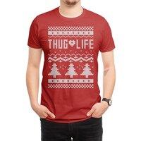 Thug Life Christmas Sweater - mens-regular-tee - small view