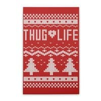 Thug Life Christmas Sweater - small view
