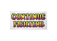 Continue Fighting - beach-towel-landscape - small view