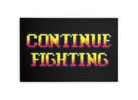 Continue Fighting - horizontal-canvas - small view