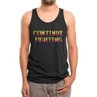 Continue Fighting - mens-triblend-tank - small view