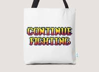 Continue Fighting - tote-bag - small view