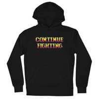 Continue Fighting - unisex-lightweight-pullover-hoody - small view