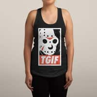 TGIF - womens-racerback-tank - small view