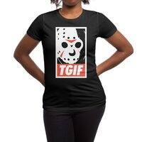 TGIF - womens-regular-tee - small view