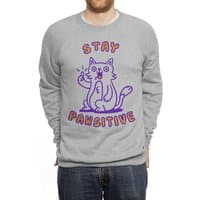 Stay pawsitive - crew-sweatshirt - small view