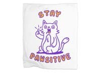 Stay pawsitive - blanket - small view