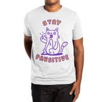 Stay pawsitive - mens-extra-soft-tee - small view