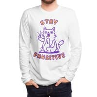 Stay pawsitive - mens-long-sleeve-tee - small view