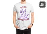 Stay pawsitive - mens-regular-tee - small view