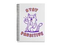 Stay pawsitive - spiral-notebook - small view