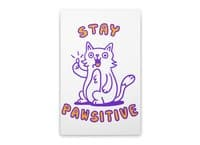 Stay pawsitive - vertical-stretched-canvas - small view