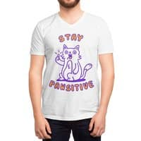 Stay pawsitive - vneck - small view