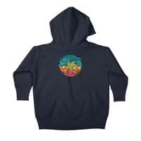 Aquatic Rainbow - baby-zip-up-hoody - small view